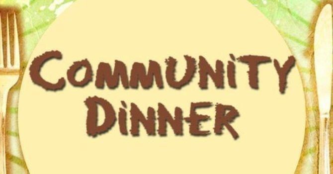 Thank you to sponsors of our Community Dinner Program image
