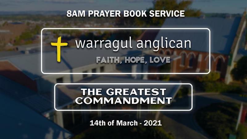 The Greatest Commandment: Part 6