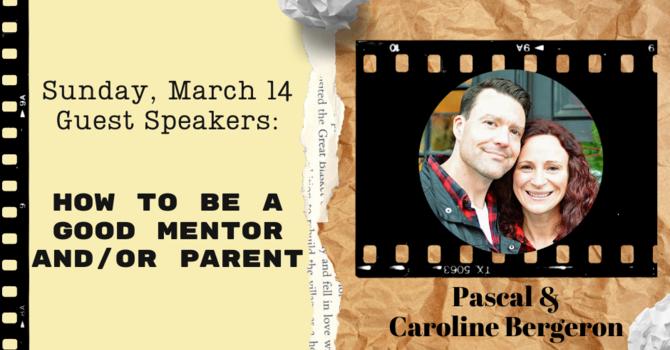 Guest Speakers: Pascal & Caroline Bergeron image