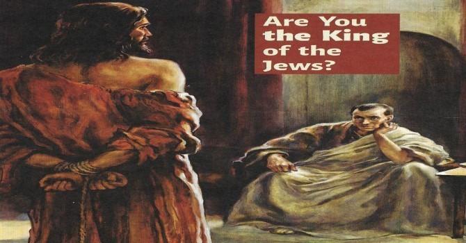 Worship Service Bulletin - Passion Sunday  image