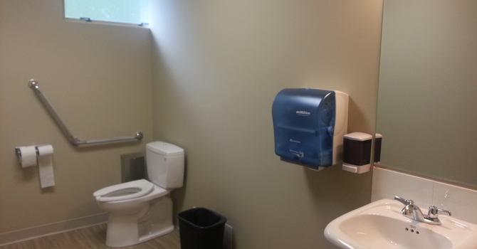 Accessible Washroom is complete! image