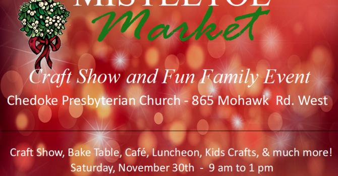 Mistletoe Market Craft Show image