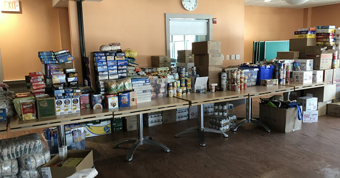 St. Mark's 5 Loaves 2 Fishes Campaign for Hunger Relief Off to Strong Start image