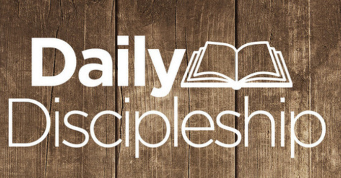 3/14/2021 Daily Discipleship Guide image