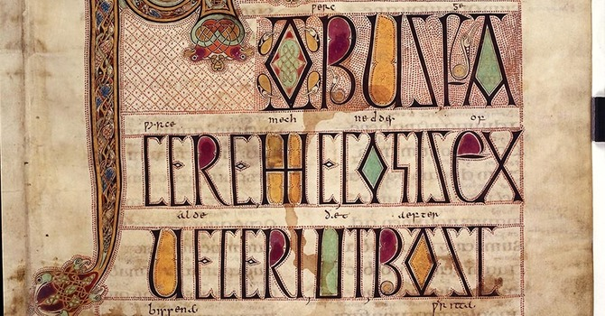 BIRDS, THE LINDISFARNE GOSPELS and THE SECOND LAW OF THERMODYNAMICS; image