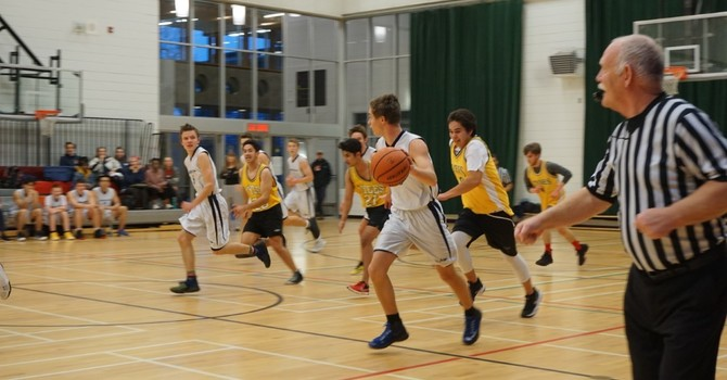 Sr. Boys Basketball Team Ranked 2nd on N. Island! image