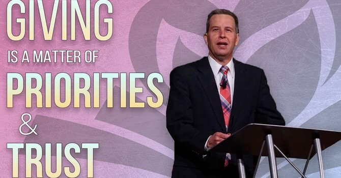 Giving is a Matter of Priorities & Trust | Dan Russell