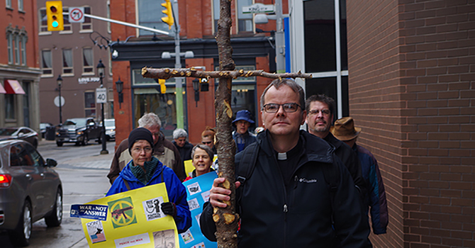 Stations of the Cross in downtown Kitchener image
