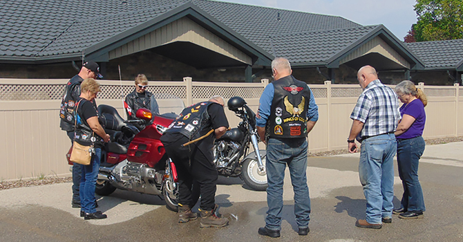 Breakfast with the bikers image