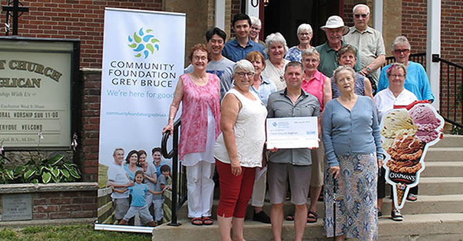 Church and community supporting each other