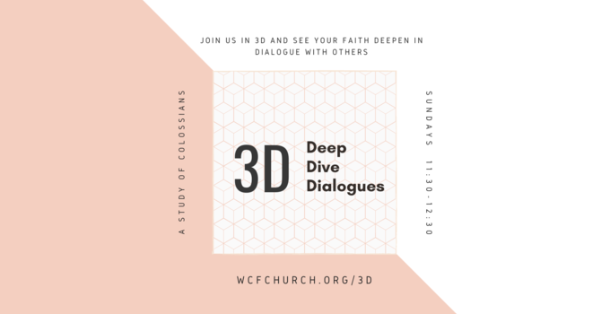 3D: Deep Dive Dialogues