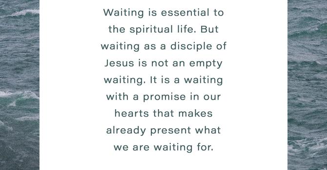 Thoughtful Thursday: Waiting image