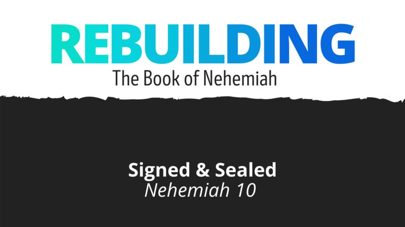 Signed & Sealed