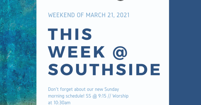 This Week at Southside (3.21.21) image