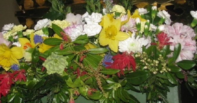 Donations for Flowers  For Easter Would Be Appreciated image
