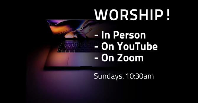 Three Ways to Worship! image
