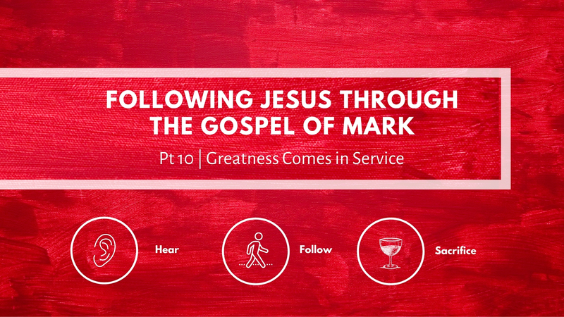 Greatness Comes in Service