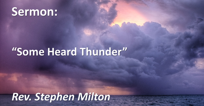 Some Heard Thunder