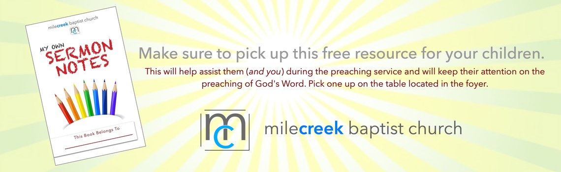 Mile Creek Baptist Church
