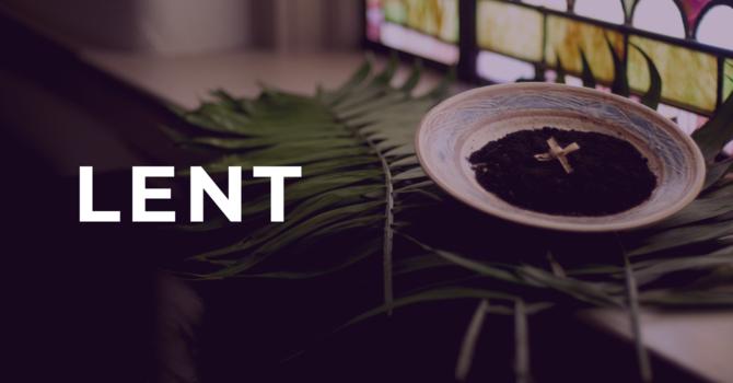 Lent: Season of Awareness image