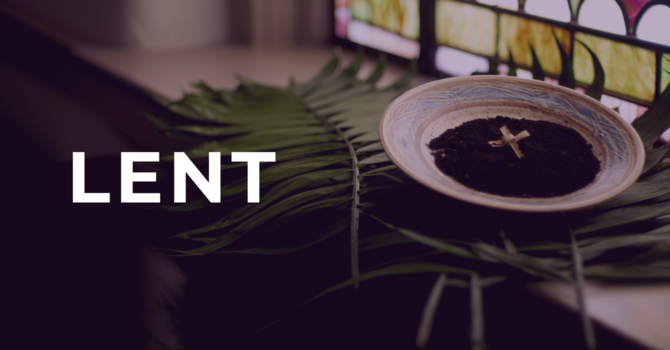 Lent: Aware of our Sin image