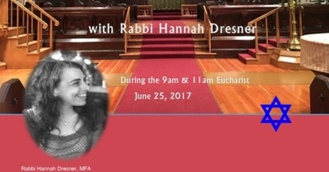 Rabbi Hannah Dresner at Sunday Services