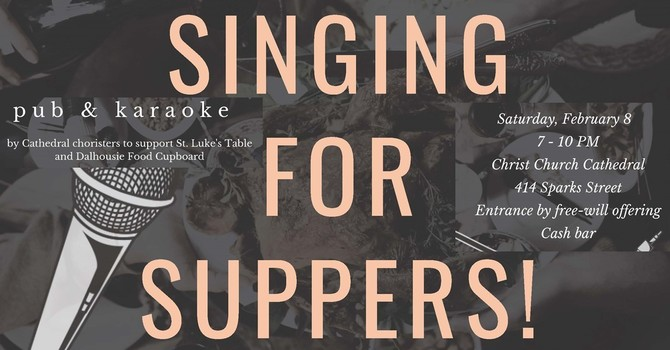 Singing for Suppers