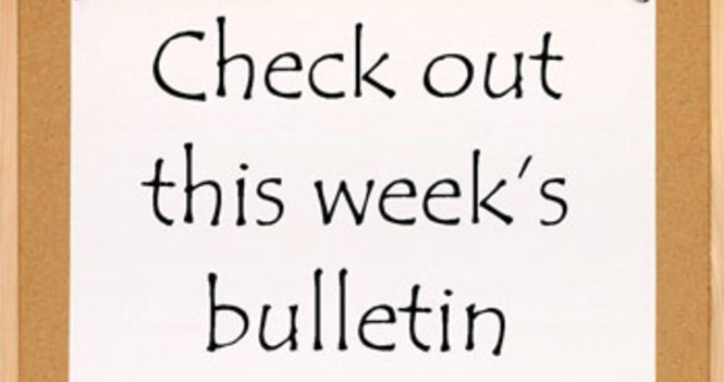 The weekly Bulletin is now available online
