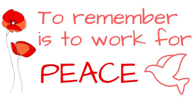 Peace Sunday Reflection - Shared November 6, 2016 image