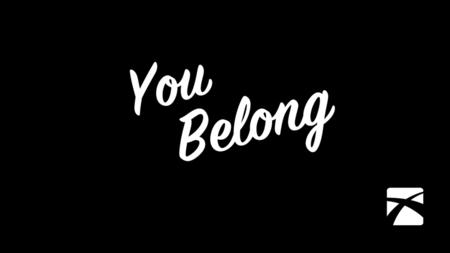Reconnect: You Belong