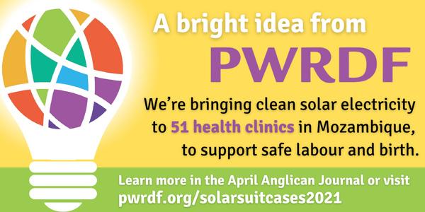 PWRDF solar suitcase project