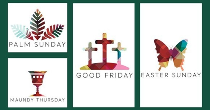 Our Holy Week Schedule image