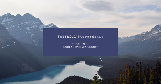 Social Stewardship