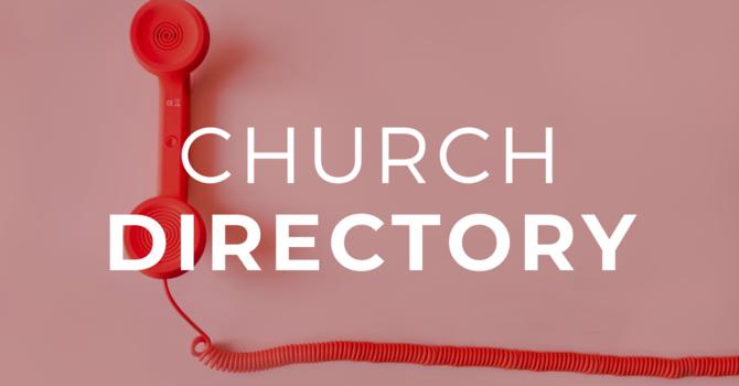 Church Directory image