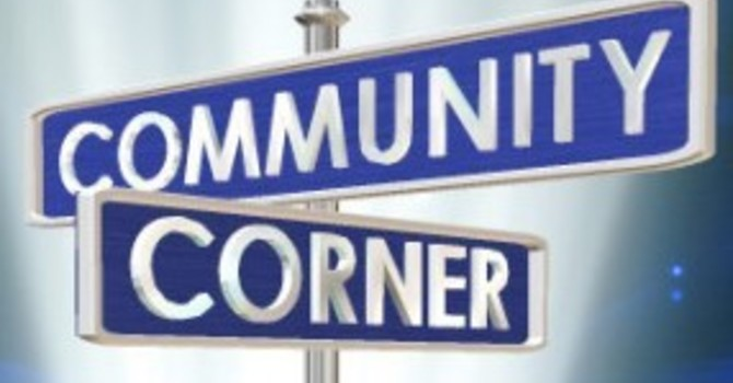 March 28 Community Corner image