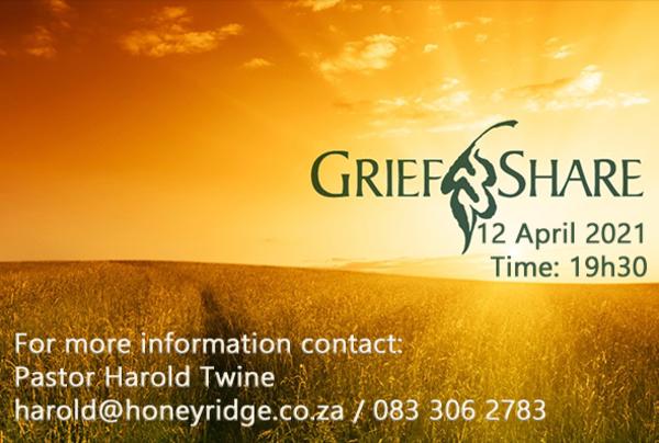 10 week GriefShare programme