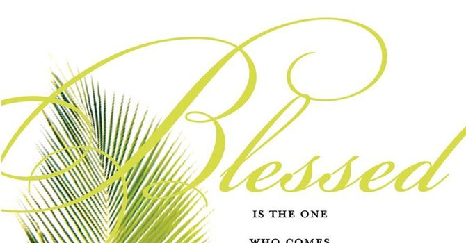 Bulletin: Palm Sunday image