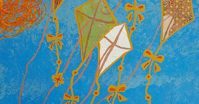 It's March, go and fly a kite
