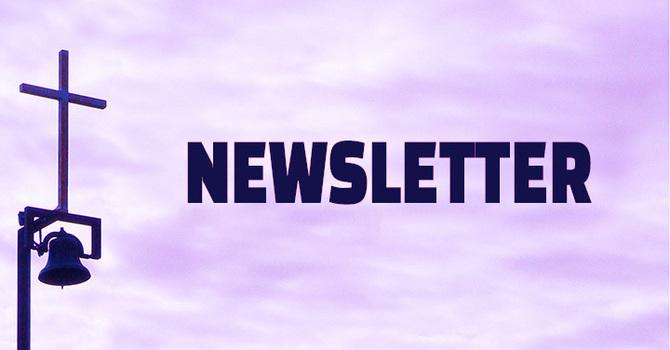 April 2021 Newsletter image
