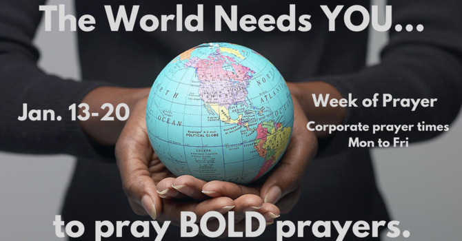 PM Service/ Pray BOLD Prayers