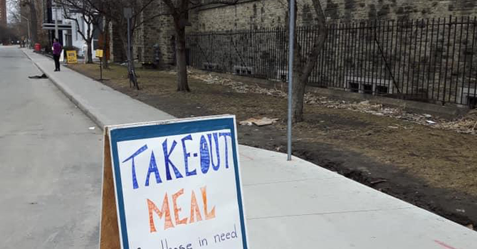 Take-out meals continue into April image