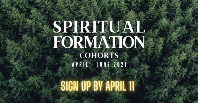Spiritual Formation Cohorts image
