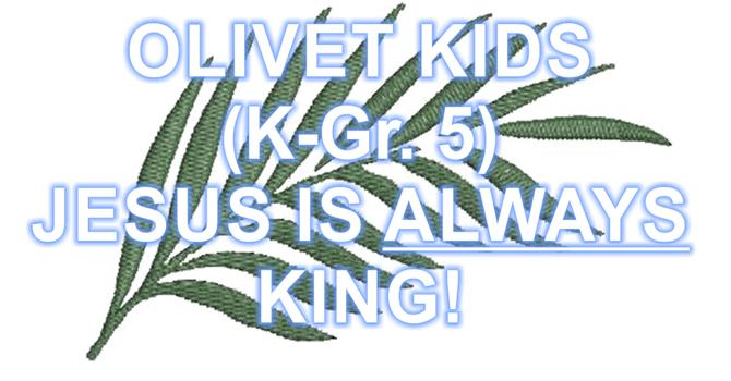 JESUS IS ALWAYS KING! image
