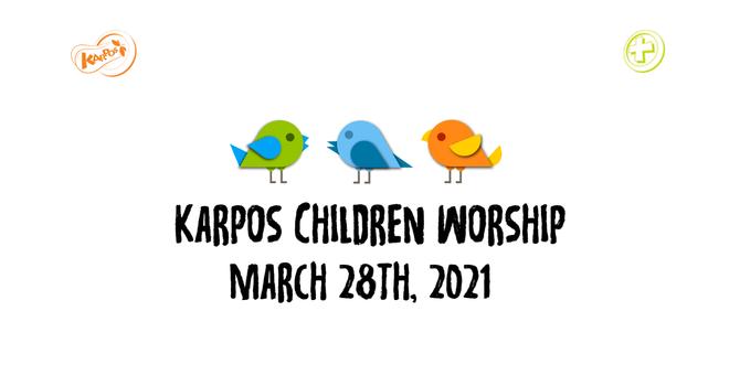210328 Elementary Sunday Worship