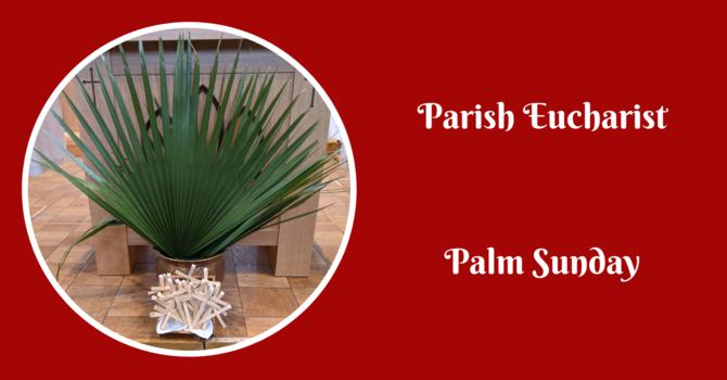 Parish Eucharist - March 28, 2021 image