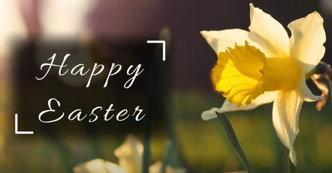Bishop Clements' Easter Greeting image