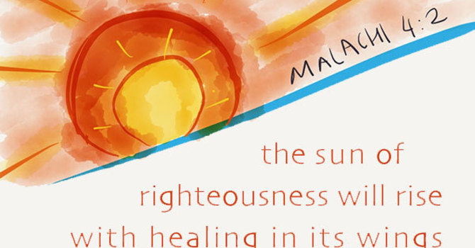 A Service of Prayer and Word with reflections on Healing image