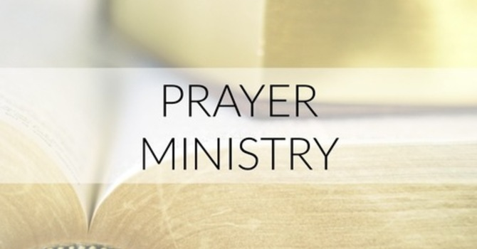 Prayer Ministry at St. Martin's image