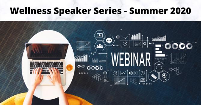 Wellness Speaker Series