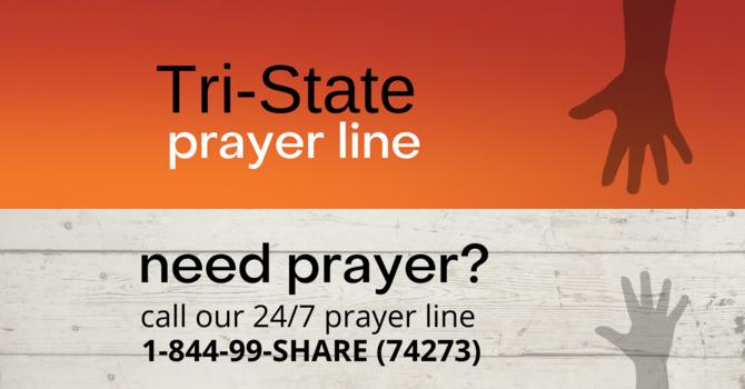 24/7    Prayer Line image